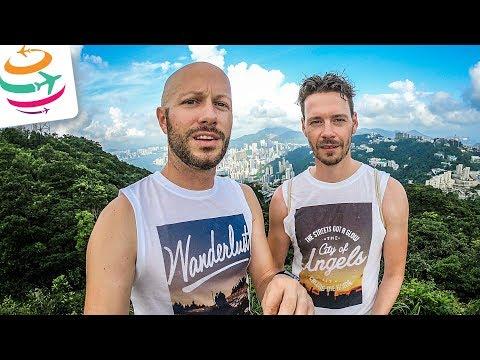 Hongkong Sightseeing und wir dürfen die Drohne fliegen! | GlobalTraveler.TV