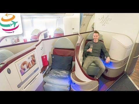 Nur eine Strecke! Air Serbia Business Class A330 | GlobalTraveler.TV