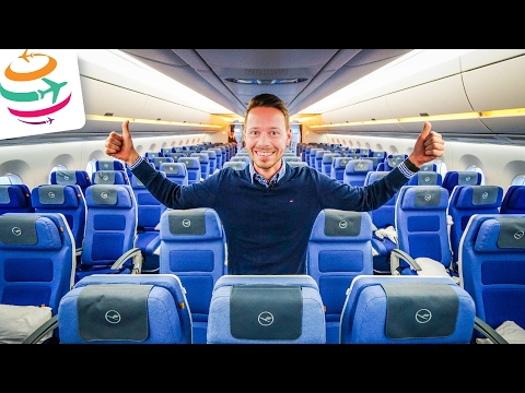 Lufthansa A350-900 Erstflug Sonderflug 09.02.2017 LH350 | GlobalTraveler.TV
