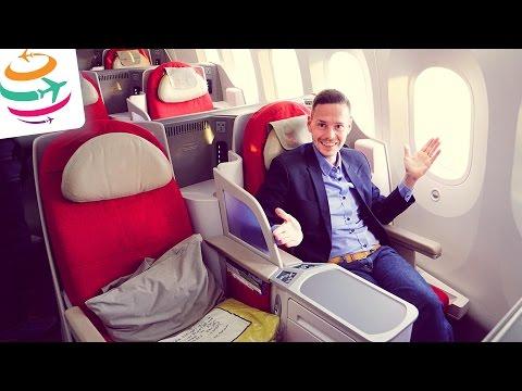 Ethiopian Business Class Boeing 787-8 | GlobalTraveler.TV
