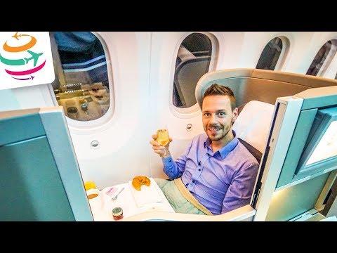 British Airways (ENG) Business Class 787 Dreamliner | GlobalTraveler.TV
