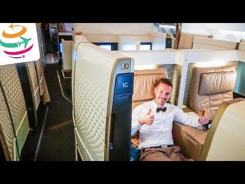 ETIHAD First Class Suite 787-9 NEUER Dreamliner   GlobalTraveler.TV