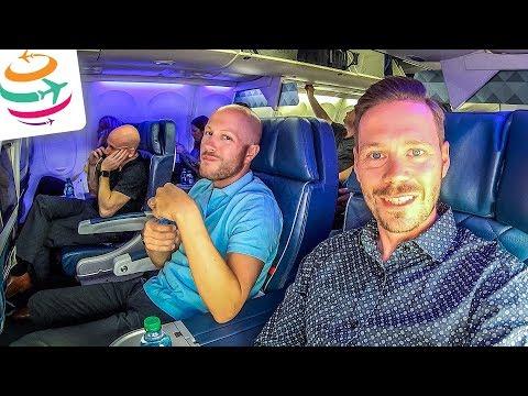 Anschlussflug verpasst! Delta Business Class 757 | GlobalTraveler.TV