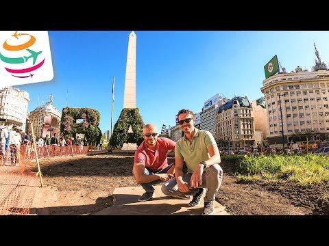 Zu Dritt durch Buenos Aires - Steaks und Sehenswürdigkeiten... | GlobalTraveler.TV