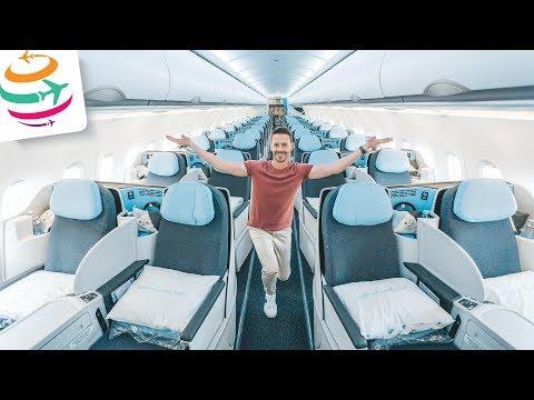 La Compagnie A321neo Business Class Dreamjet auf Langstrecke | GlobalTraveler.TV