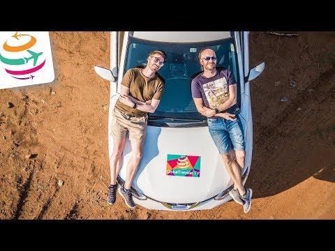 Angekommen in Südafrika! Auto abholen, Einkaufen & Hotel | GlobalTraveler.TV