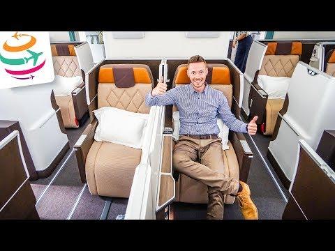 Oman Air NEW Business Class in BRAND NEW 787-9 Dreamliner | GlobalTraveler.TV