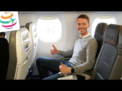 Lufthansa Business Class Embraer 190 | GlobalTraveler.TV