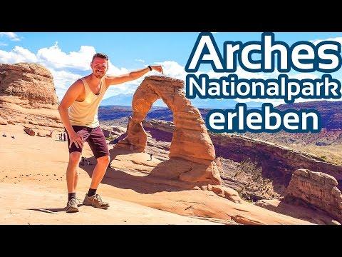 Arches National Park Utah erleben Deutsch | GlobalTraveler.TV
