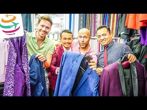 So lässt man Anzüge & Hemden beim Schneider in Bangkok machen | GlobalTraveler.TV