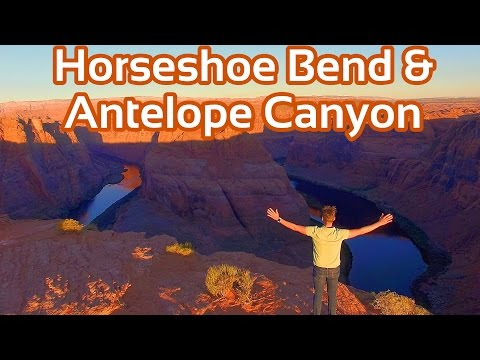 Antelope Canyon und Horseshoe Bend Utah erleben | GlobalTraveler.TV