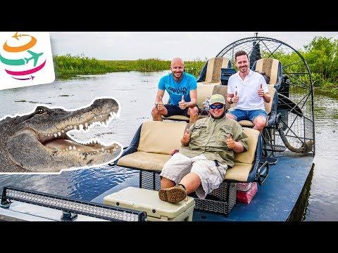Alligatoren & Airboat in den Everglades am letzten Tag | GlobalTraveler.TV