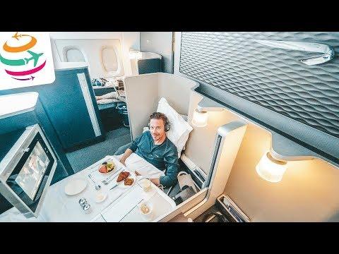Upgrade in die First! Mit British Airways im A380 nach London | GlobalTraveler.TV