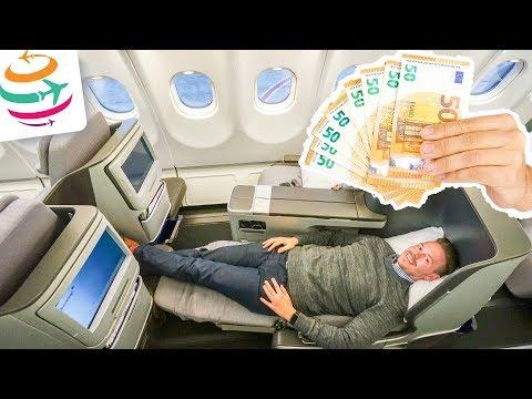 Business Class für unter 1.000€ fliegen | GlobalTraveler.TV