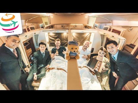 Singapore Airlines First Class Suites A380 (Vorgänger) | GlobalTraveler.TV
