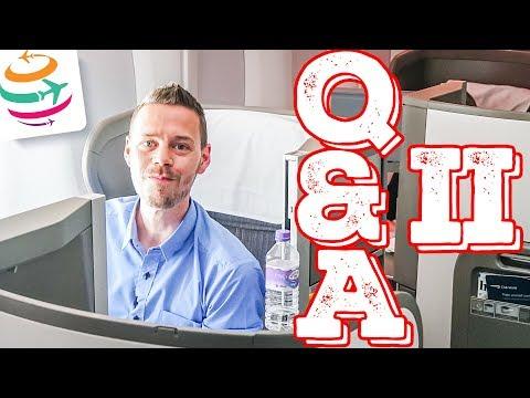 Q&A Teil II: Warum reise ich so oft, was darf ich behalten? | GlobalTraveler.TV