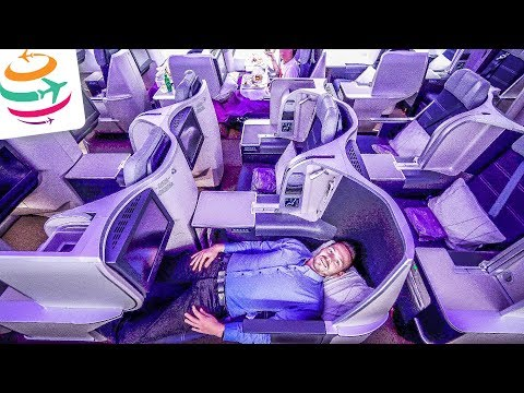 Malaysia Airlines Business Class A330-300 | GlobalTraveler.TV