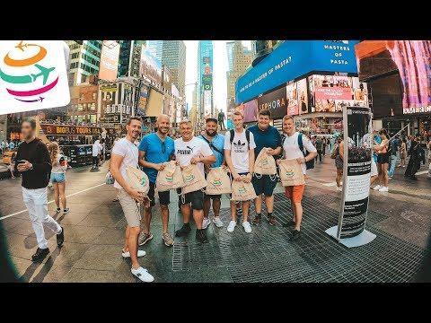 Newark, New York und unser Mini-Fantreffen | GlobalTraveler.TV