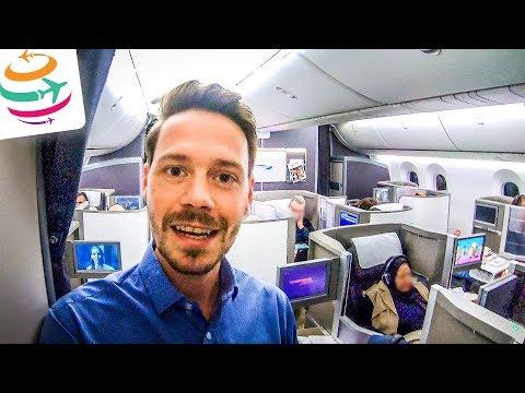 Upgrade in die Business Class British Airways Tripreport | GlobalTraveler.TV