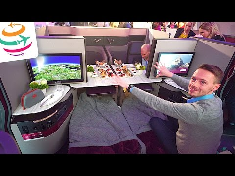 Qatar Q Suite New Business Class auf der ITB Berlin | GlobalTraveler.TV