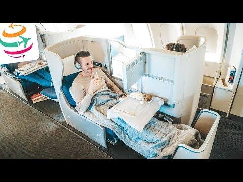 Boeing 747-400 Upperdeck in der British Airways Business Class | YourTravel.TV