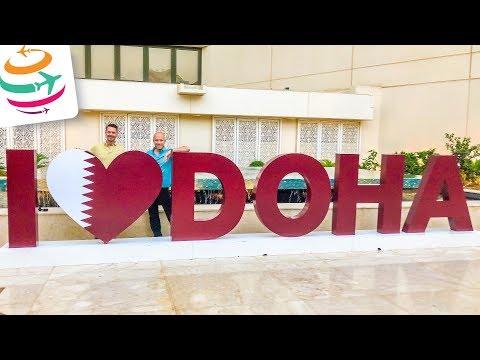 Stadttour durch Doha & IATA Ground Handling Konferenz | GlobalTraveler.TV