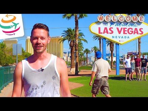 Las Vegas an einem Tag erleben | Las Vegas am Tag und in der Nacht | GlobalTraveler.TV