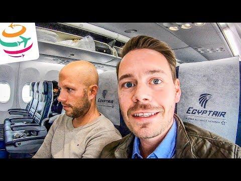 Na was bietet EgyptAir in der Economy? Tripreport Boeing 737-800 | GlobalTraveler.TV