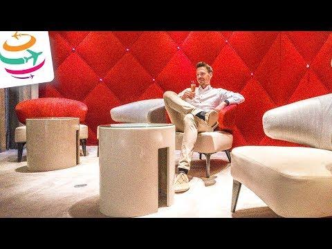 Absolute Spitze! Air France La Premiere Lounge Paris | GlobalTraveler.TV