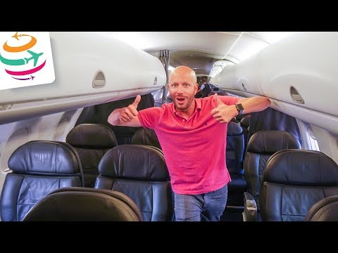 American Airlines First Class Embraer 175 ORD-YYZ | GlobalTraveler.TV