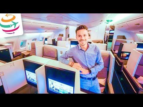14 Stunden in der Etihad Business Class im A380 nach Sydney | GlobalTraveler.TV