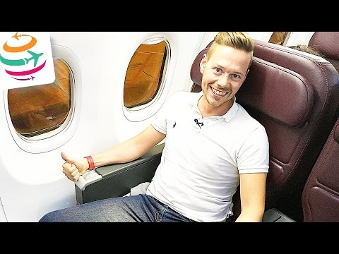 Qantas Business Class 737-800 | GlobalTraveler.TV