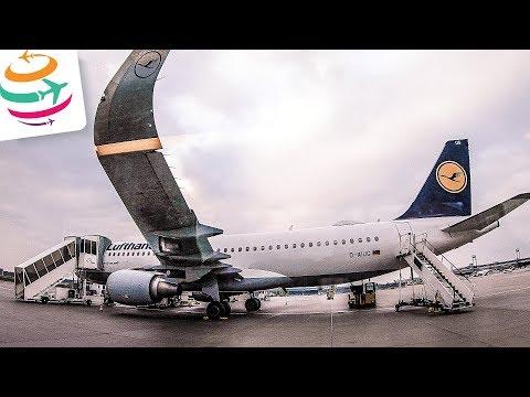 Lufthansa A320 Economy Tripreport FRA-TUN | GlobalTraveler.TV