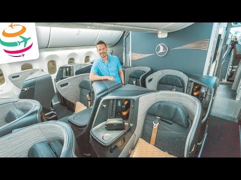 Die neue Turkish Airlines Business Class 787 auf Langstrecke | GlobalTraveler.TV
