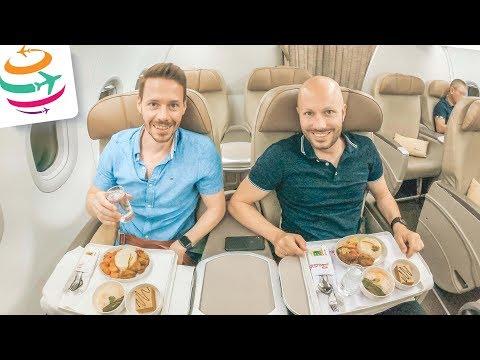 Mit der Batik Air Business Class nach Bali | GlobalTraveler.TV