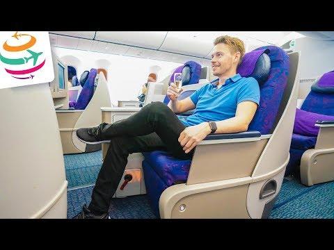 Besser als ihr Ruf! Air China Business Class 787-9 nach Auckland | GlobalTraveler.TV