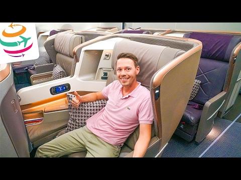 Singapore Airlines A350 Business Class (ENG) | GlobalTraveler.TV