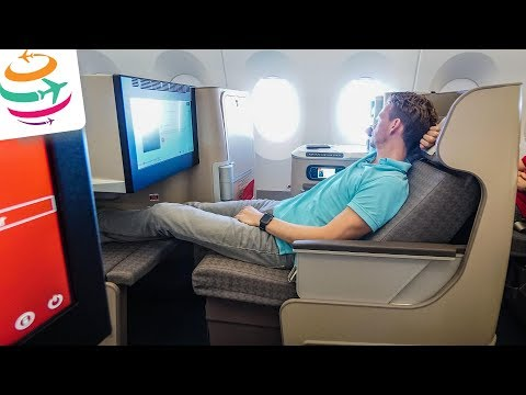 Die neue Iberia Business Class A350 von Madrid nach New York | GlobalTraveler.TV
