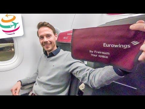 Eurowings BEST (Business) A320 Tripreport | GlobalTraveler.TV