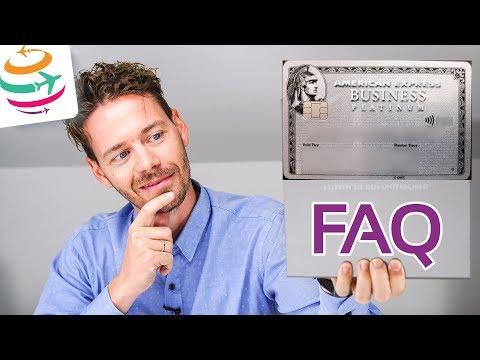 FAQ zur American Express Platinum Kreditkarte | GlobalTraveler.TV