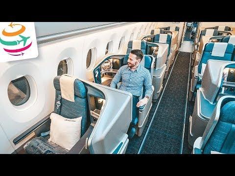 Einfach WOW! Die neue Philippine Airlines Business Class in der A350 | GlobalTraveler.TV