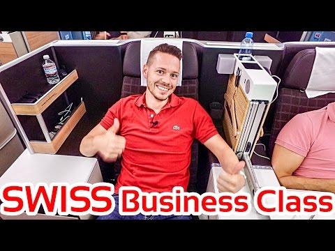 All new SWISS Business Class B777-300ER | GlobalTraveler.TV