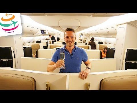 Etihad Business Class A380 MEL-AUH Was ich mag und nicht mag | GlobalTraveler.TV