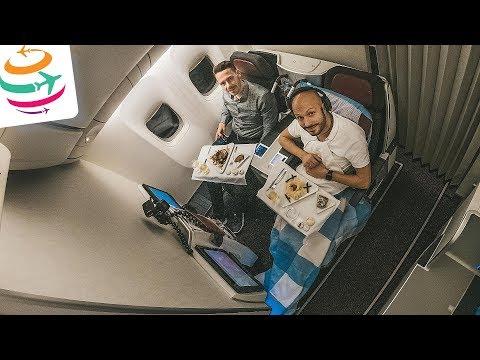 Lecker! Austrian Business Class mit feinem Do&Co Catering | GlobalTraveler.TV