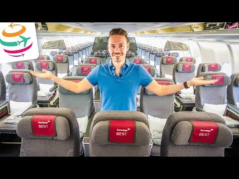Mit Eurowings BEST von Düsseldorf nach New York A330-300   GlobalTraveler.TV