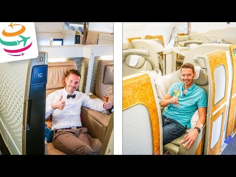 Emirates vs. Etihad FIRST Class Suite | GlobalTraveler.TV