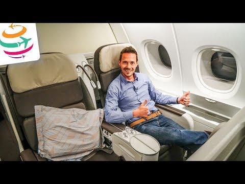 Air France Business Class A380 | GlobalTraveler.TV