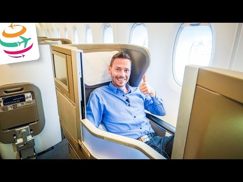 British Airways Business Class A380 Club World LHR-HKG | GlobalTraveler.TV