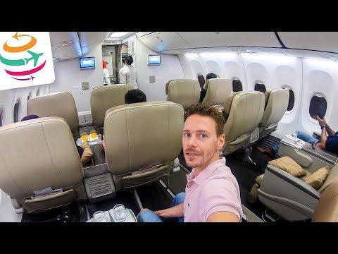 Malindo Air Business Class 737-800 Tripreport | GlobalTraveler.TV