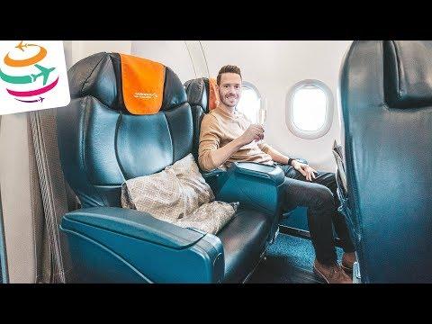 Die Aeroflot Business Class in der A320 nach Moskau | GlobalTraveler.TV